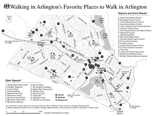 Walking in Arlington's Favorite Places to Walk